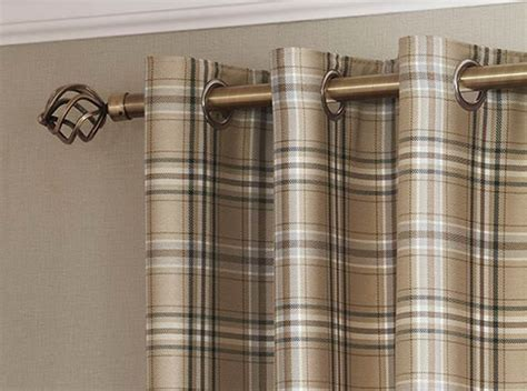 Tartan Check Lined Eyelet Curtains Ready Made Ring Top Chartreuse Curtains Drapes Dark Grey Blackout Priscilla Kitchen 9 Cheap Kids Insulated Sliding Glass Door Outdoor Bamboo Curtain Panels Air For Restaurant