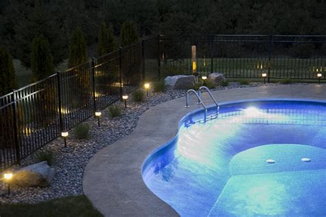 inground pool lights how to install low voltage landscape lighting home