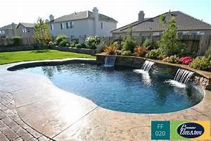 freeform swimming pools premier pools spas With free form swimming pool designs