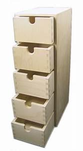 Schmales Regal Mit Schubladen : stabiles schubladen regal standregal mit schubladen holz unbehandelt ebay ~ Orissabook.com Haus und Dekorationen
