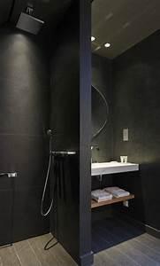 Badgestaltung Kleines Bad : stilvolle und mutige badgestaltung in schwarz freshouse ~ Sanjose-hotels-ca.com Haus und Dekorationen