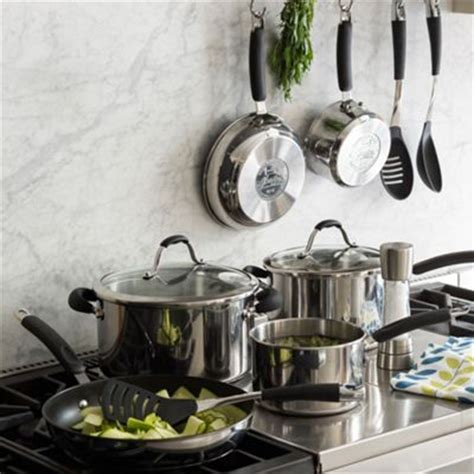georg jensen silver lined copper cookware stainless steel  enamel camping cookware