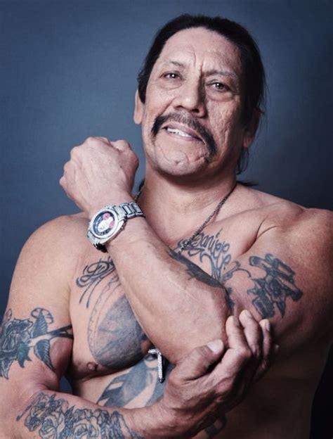 Danny Trejo Tattoo On Chest