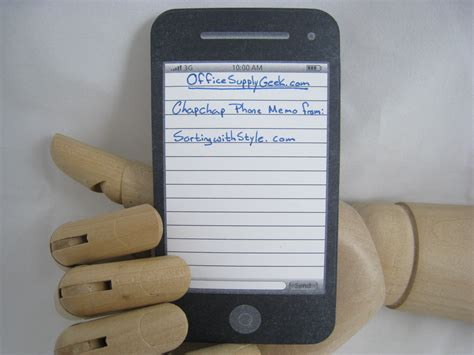 A Cheap Iphone If You Only Want A Notepad