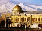 'Emam Khomeini Square with Backdrop of Zagros Mountains ...