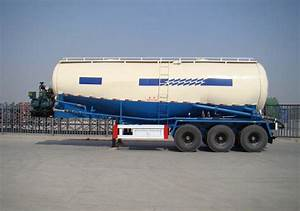 Bulker Truck 30 40 50 60 Cbm Powder Bulker Cement Tanker Trailer For