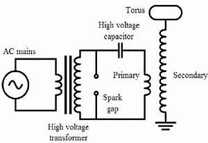 Tesla Coil Circuit Diagram  5