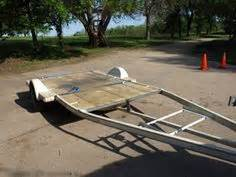 Convert A Boat Trailer To Pontoon Trailer by Great Trailer Idea For Small Craft Small Catamarans