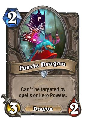 faerie dragon hearthstone heroes  warcraft wiki
