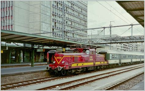 Cfl 3603 In Luxembourg. 13. Mai 1998