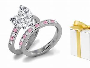 color diamond rings pink diamonds blue diamonds green With colored diamond wedding ring sets