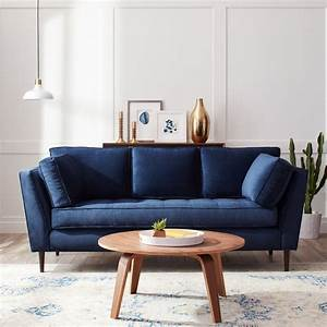 dark blue sofa home design With dark blue sofa bed