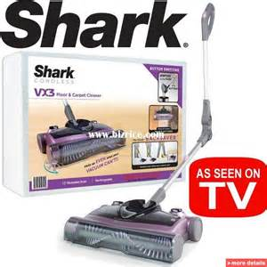 shark vx3 floor carpet sweeper v1950 factory serviced