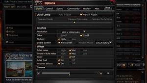 How To Configure Graphics And Sound Settings In Crossfire