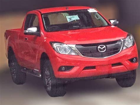 mazda truck 2015 2015 mazda bt 50 facelift leaked autoevolution