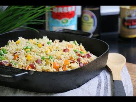 riz cantonais la vrai recette de cuisine chinoise