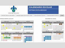 Calendario 2017 Facultad de Pedagogía