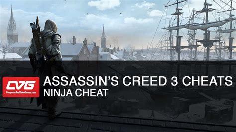 Assassins Creed 3 Cheats