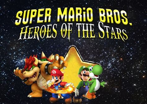 Ssb4 Super Mario Bros Heroes Of The Stars By