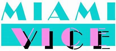 80s Miami Vice Graphic Deco Trends Font