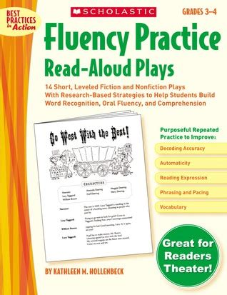 fluency practice read aloud plays grades   short