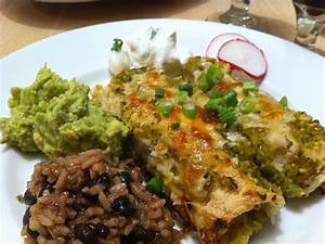 Chicken Enchiladas Verdes Recipe — Dishmaps
