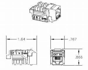 hellermann tyton megaband cat5e modular keystone jack With cat5 wire diagram
