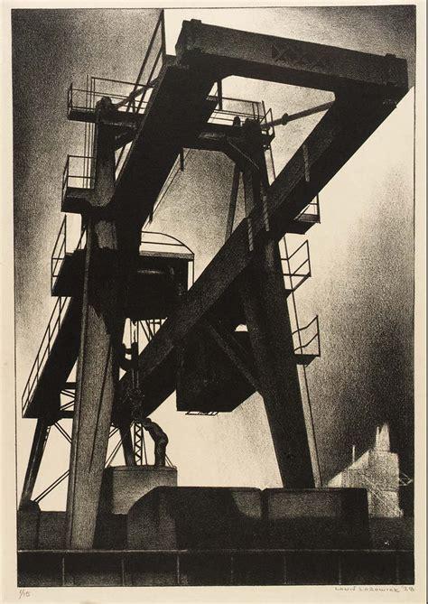 diesel era lithographs  louis lozowick