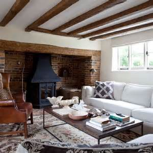 country cottage living room cosy living room design