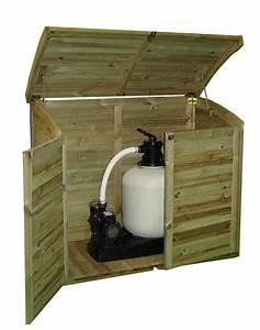 Coffre Jardin Bois : coffre filtration piscine ~ Teatrodelosmanantiales.com Idées de Décoration