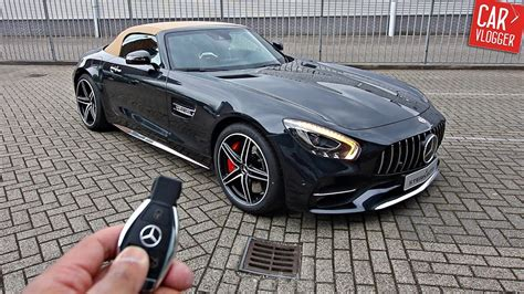 Inside The New Mercedes-amg Gt C Roadster 2017