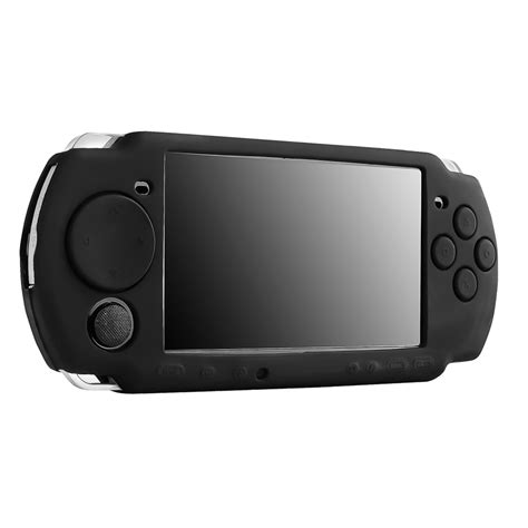 insten rubber silicone skin gel cover compatible with sony psp 3000 series psp slim 2000
