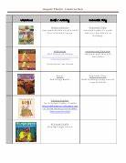 Structured Play: August Lesson Plans