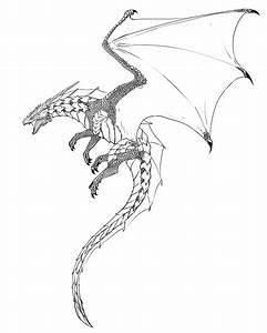 Enter the LAiR — gauntes: dragon lineart | DRAGONS ...