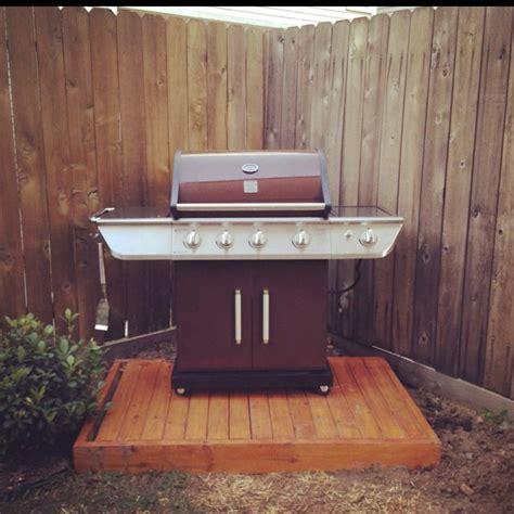 diy grill deck built   sunday   home