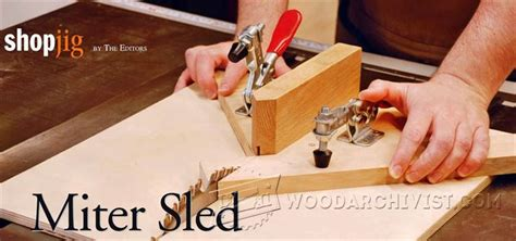 diy miter sled woodarchivist