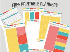 8 Best Images of Free Printable Personal Planner Memo