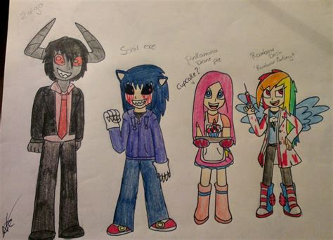 Creepypasta Characters 3 By Nayacat On Deviantart