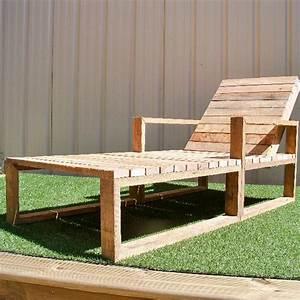 Bain De Soleil Bois : 22 meubles faire avec des palettes en bois ~ Teatrodelosmanantiales.com Idées de Décoration