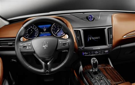 maserati suv interior maserati levante suv detailed in geneva just as