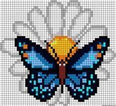 22 mejores imágenes de Punto de cruz-MARIPOSAS | Butterfly ...