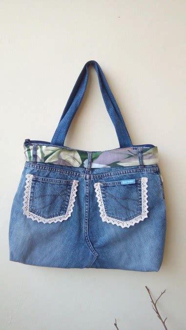kreasi daur ulang celana jeans bekas menjadi dompet