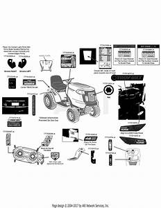 Troy Bilt 13cx79kt011 Horse Xp  2014  Parts Diagram For