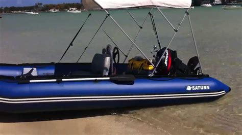 Inflatable Boat Fishing Youtube by Saturn Inflatable Boat Youtube