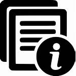 Icon Document Info Onlinewebfonts Web Brief Svg