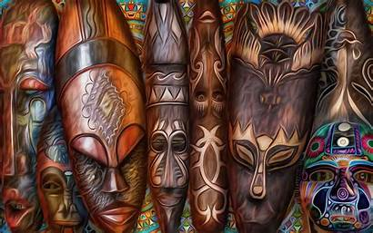 African Tribal Wallpapers Wall Painting Masks 1080p