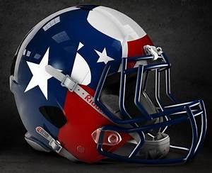 Artist creates concept helmets for NCAA football teams ...