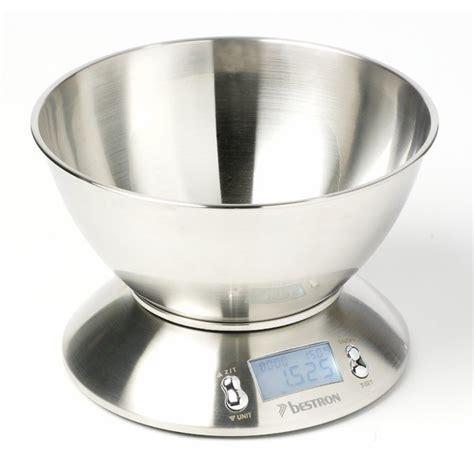 balance de cuisine inox balance de cuisine inox avec bol bestron balances et