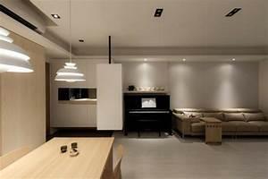 Décoration Appartement Moderne : appartement moderne avec d coration en bois design ~ Nature-et-papiers.com Idées de Décoration