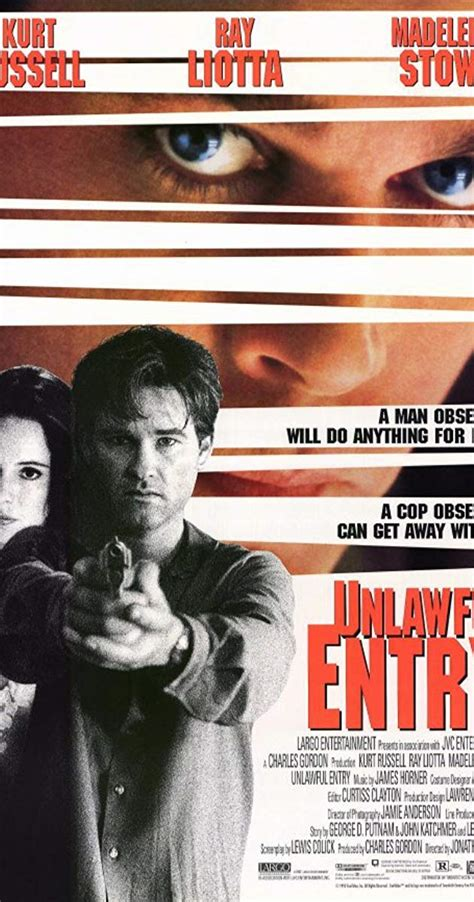 obsession fatale 1992 bande annonce unlawful entry 1992 imdb
